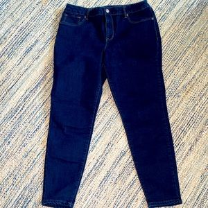 Maurices high rise straight jean jeggings